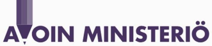 avoimen ministeriön logo