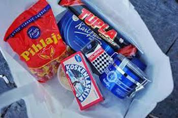 Olika finska livsmedel