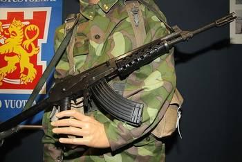 Rk 62 -rynnäkkökivääri (Kuva: MKFI)